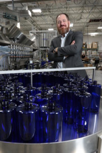FAUSmall Business Development Center at FAU.   Kira Labs founder, David Rosen, at their facility in Pompano.